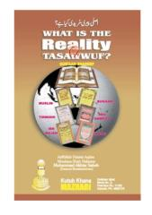 What is the Reality of Tasawwuf.pdf