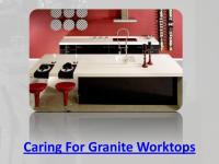 Caring For Granite Worktops.pdf