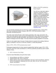 What is the FFP protective Face mask (1).docx