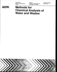 EPA-Methods for Chemical Analysis of Water and Wastes.pdf