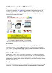 Which Organization is providing the Best OMR Software in India (1).pdf