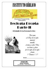 Teología Propia Apuntes, Parte 2.pdf