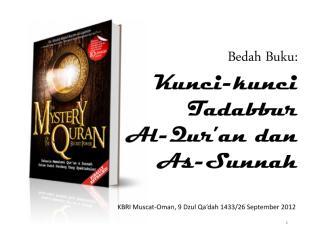 ringkasan buku kunci-kunci tadabbur al-quran dan as-sunnah.pdf