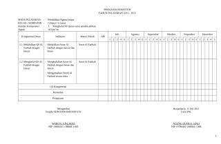 program semester PAI SD.docx