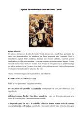 A prova da existência de Deus em Santo Tomás - Sidney Silveira.pdf