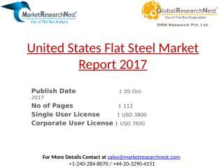 United States Flat Steel Market Report 2017.pptx