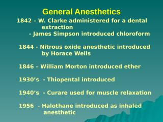 general anesthesia 2012  lecture.ppt