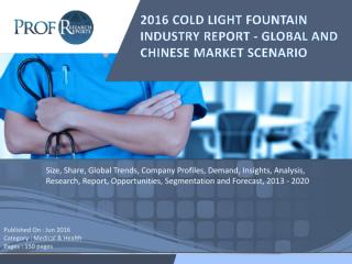 2016 COLD LIGHT FOUNTAIN INDUSTRY REPORT - GLOBAL AND CHINESE MARKET SCENARIO.pdf