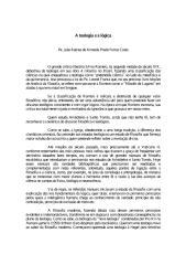 A Teologia e a Lógica - Padre Joao Batista de Almeida Prado Ferraz Costa.pdf