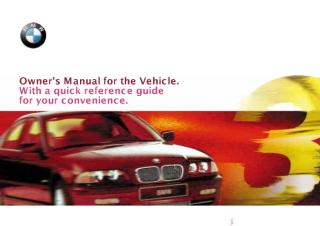 ownar manual bmw323i model 2000E462000i.pdf